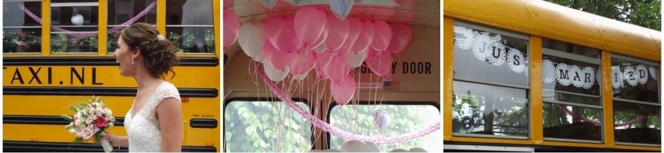 Onze Schoolbus als trouwvervoer